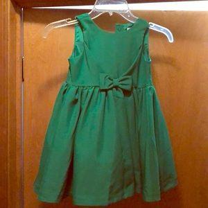 Emerald Green Janie and Jack dress
